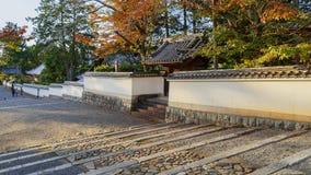 Tempel Nanzen -nanzen-ji in Kyoto, Japan royalty-vrije stock foto's