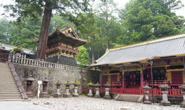Tempel in Nikko Royalty-vrije Stock Foto