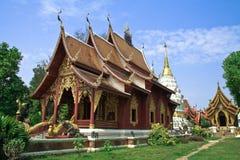 Tempel in noordelijk Thailand Stock Foto's