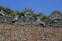 Tempel - norr Vietnam Arkivbild