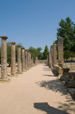 Tempel Olympia Royalty-vrije Stock Afbeelding