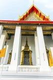 Tempel område Wat Pho i Bangkok Arkivbild