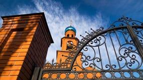 Tempel omwille van de Heilige Heilige Serafima Sarovsky Royalty-vrije Stock Foto