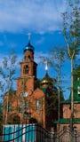 Tempel omwille van de Heilige Heilige Serafima Sarovsky Royalty-vrije Stock Afbeeldingen