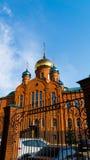 Tempel omwille van de Heilige Heilige Serafima Sarovsky Stock Foto