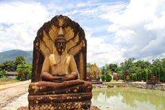 Tempel op de berg van Khao Takeab in Thailand stock afbeeldingen