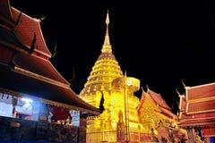 Tempel op de berg van Khao Takeab in Thailand Stock Afbeelding