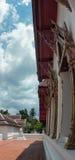 Tempel op de berg van Khao Takeab in Thailand Royalty-vrije Stock Fotografie