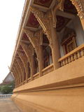 Tempel op de berg van Khao Takeab in Thailand Stock Foto