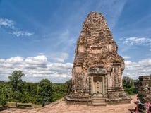 Tempel på Angkor Wat Royaltyfri Foto
