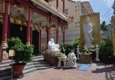 Tempel på Canet Tho - Vietnam fotografering för bildbyråer