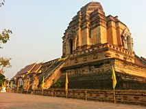 Tempel på Chiang Mai Thailand Royaltyfria Bilder