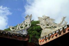 Tempel på doftpagoden Arkivfoto