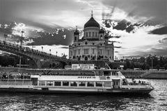 Tempel på flodbanken Royaltyfri Fotografi