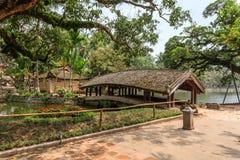 Tempel på Hanoi, Vietnam Royaltyfria Foton