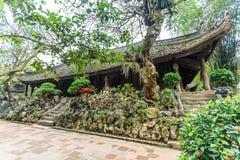 Tempel på Hanoi, Vietnam Arkivbilder