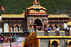 Tempel på kullestationen Uttrakhand i Indien Royaltyfri Foto
