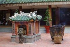 Tempel på Sam Mountain Arkivbild