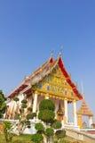 Tempel på Wat Pak Kran Royaltyfri Foto