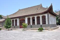 Tempel på Zhou Mausoleum Arkivbilder