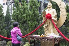 Tempel Pak-Tai stockbild