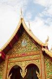 Tempel Phayao, Thailand Arkivbilder