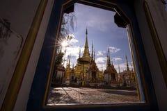 Tempel Phra Boromthat, Provincie Tak, Thailand Stock Foto