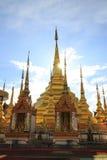 Tempel Phra Boromthat, Provincie Tak, Thailand Royalty-vrije Stock Afbeelding