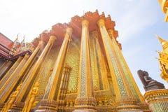 Tempel Phra Kaew und Royal Palace von Thailand stockfoto