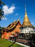 Tempel Phrathat Lampang Luang Lizenzfreie Stockbilder