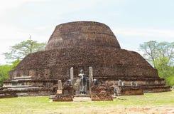 Tempel in Polonnaruwa, Sri Lanka Stock Afbeelding