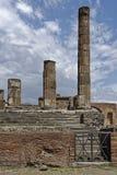 Tempel, Pompeji lizenzfreies stockbild