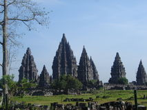 Tempel Prambanan Stockfotografie