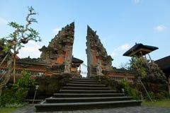 Tempel Pura Puseh auf Bali-Insel Lizenzfreie Stockfotografie