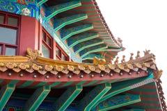 Tempel Qingdao Kina Royaltyfria Bilder