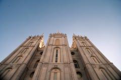 Tempel-Quadrat Stockfotos