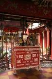 Tempel Quan Cong - Hoi An - Vietnam Arkivfoto