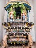 Tempel Ratha Cart i södra Indien Arkivbild