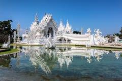 Tempel Rong Khun Lizenzfreie Stockfotografie