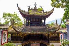 Tempel Rrwang (zwei Adel) von Dujiang-Wehr Lizenzfreies Stockbild