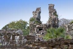 Tempel ruiniert Th XII Jahrhundert, Siem Reap, Kambodscha lizenzfreie stockfotografie