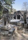 Tempel ruiniert Th XII Jahrhundert, Siem Reap, Kambodscha lizenzfreie stockfotos