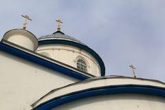 Tempel-Russland-Kirche Lizenzfreie Stockbilder
