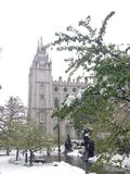 Tempel Salt Lake City Utah Stockfotografie