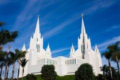 Tempel in San Diego royalty-vrije stock afbeelding