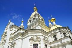 Tempel in Sebastopol stock fotografie