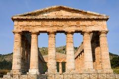 Tempel in Segesta Lizenzfreies Stockbild