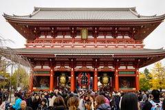 Tempel Senso -senso-ji Stock Foto's
