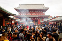 Tempel Senso -senso-ji Royalty-vrije Stock Fotografie