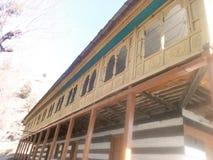 Tempel in Shimla PK stock foto's